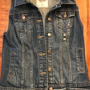 Mossimo Jean Jacket Vest